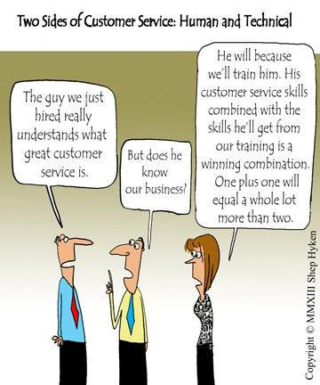 The Two Sides of Customer Service Training: Human and Technical ...