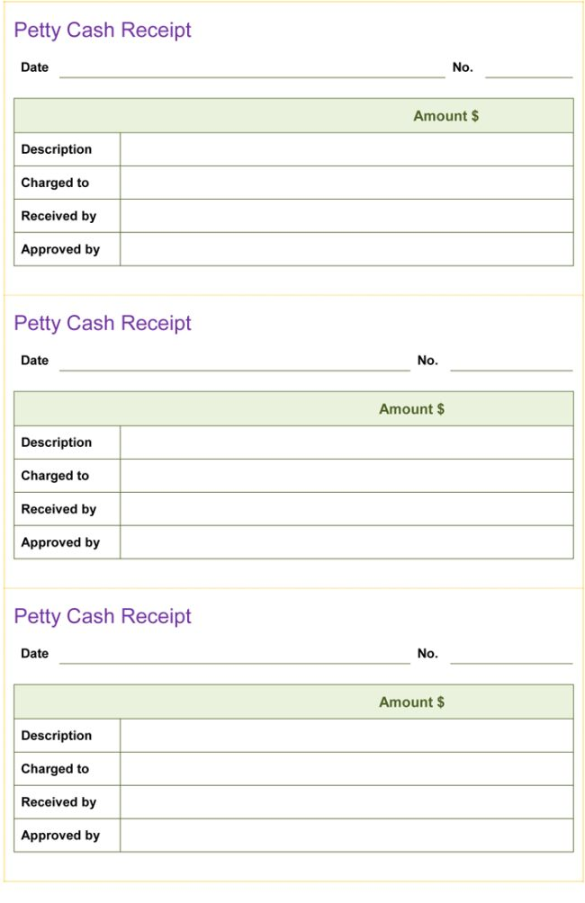 Cash Receipt Template - 5+ Printable Cash Receipt Formats