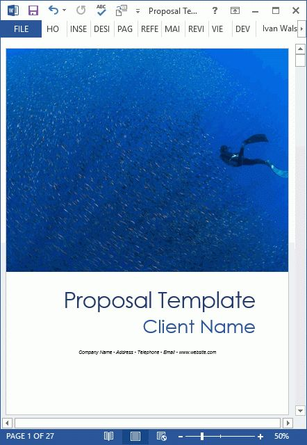 NEW: 10 Business Proposal Templates (MS Word and Excel)