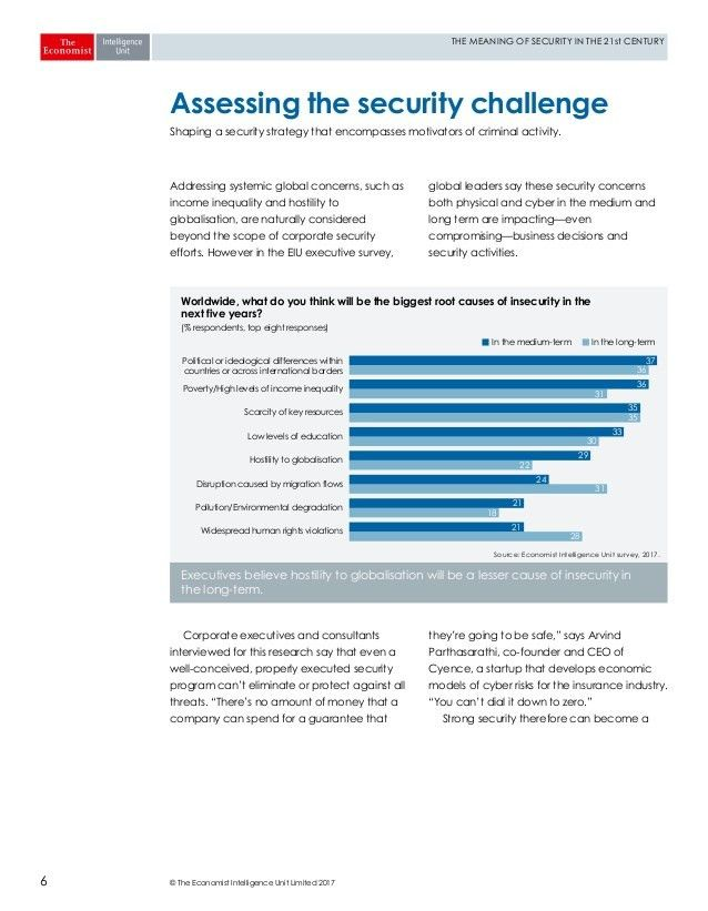 The meaning of security in the 21st century