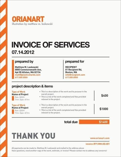 Invoice Graphic Design Pinterest Graphics Design And Templates ...