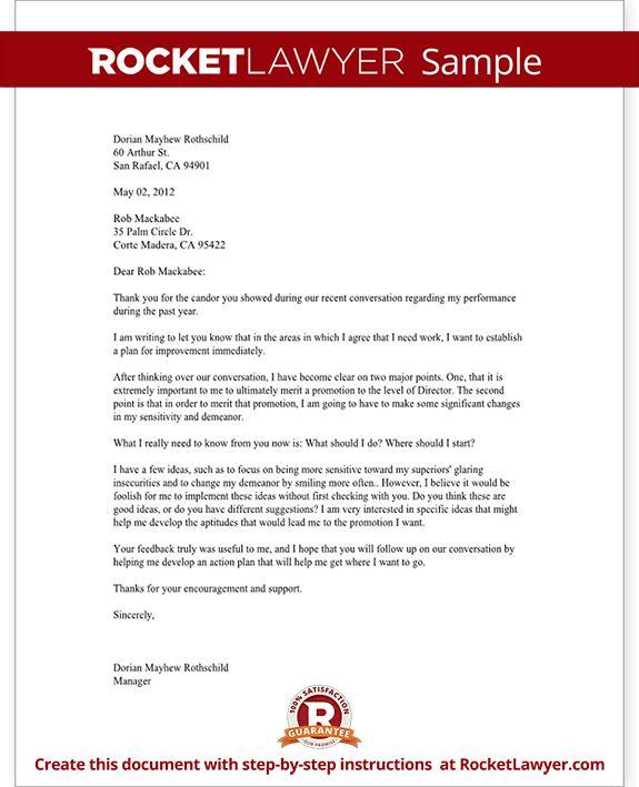 Letter Asking for Promotion | Rocket Lawyer
