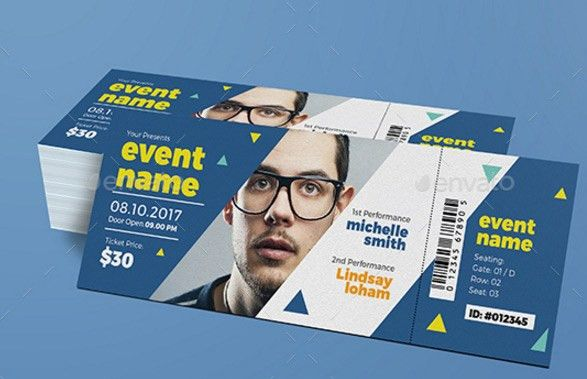 Ticket Design: 20 Creative Examples and Templates