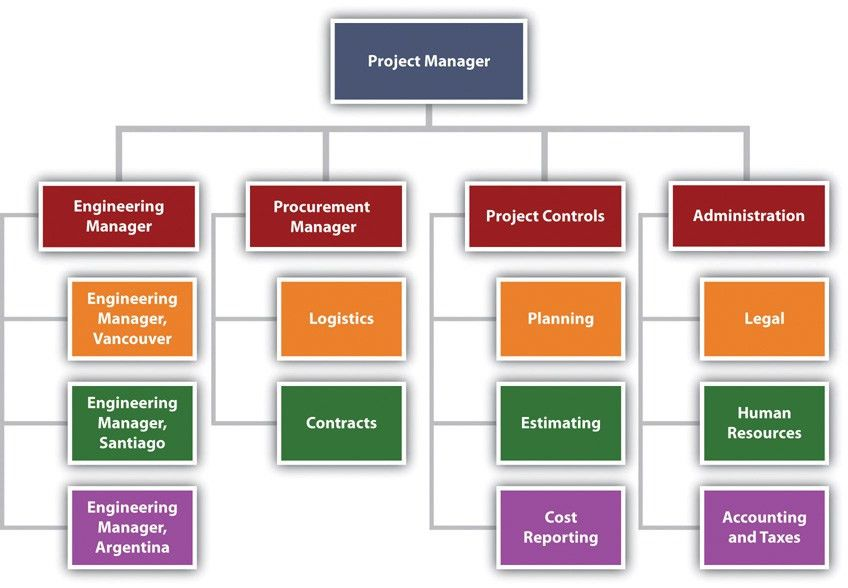 Project Organization Chart. Figure 3 2 Typical Project ...