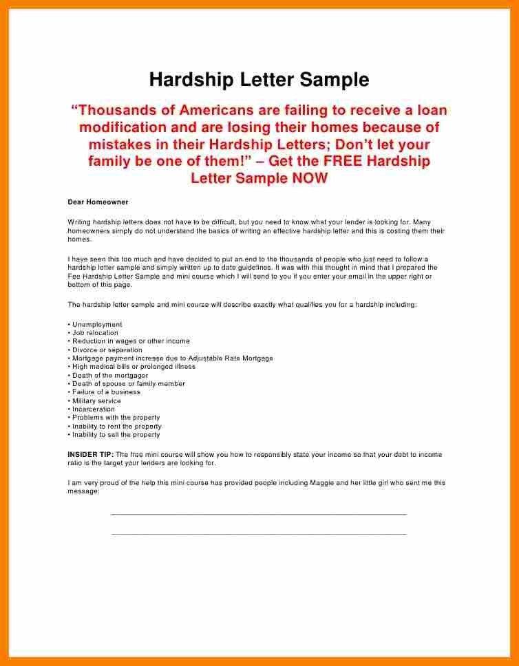 unemployment letter sample