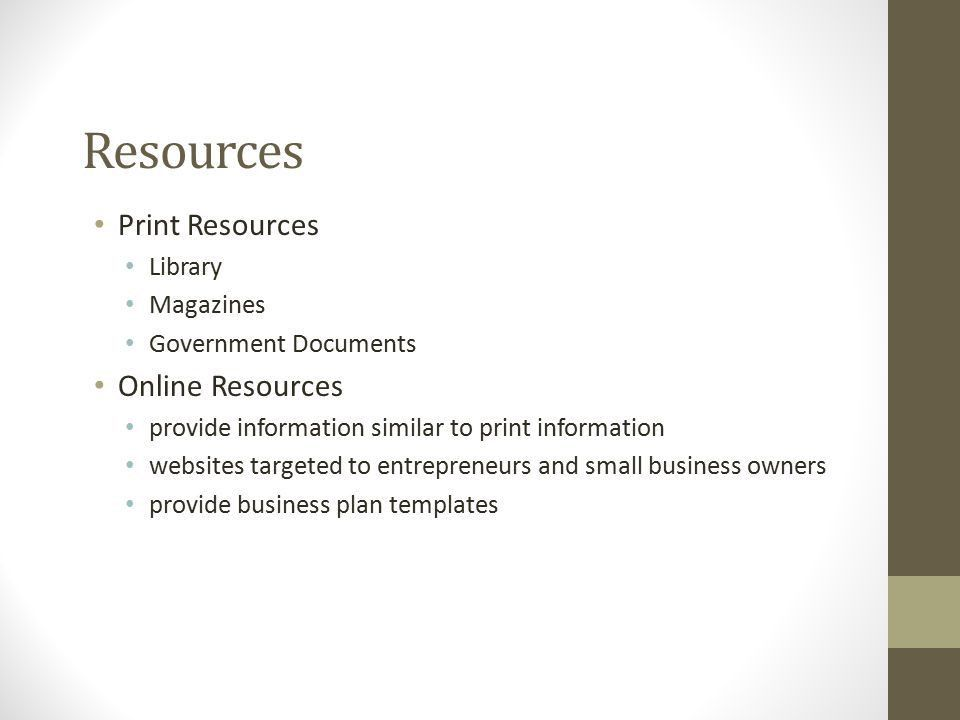 Developing a Business Plan - ppt video online download