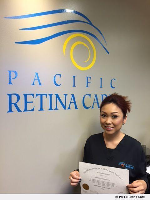 Congratulations, Tes! | Pacific Retina Care