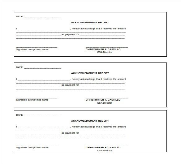 12+ Free Microsoft Word Receipt Templates Download | Free ...