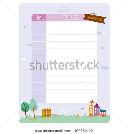 Vector Design Elements Notebook Diary Stickers Stock Vector ...