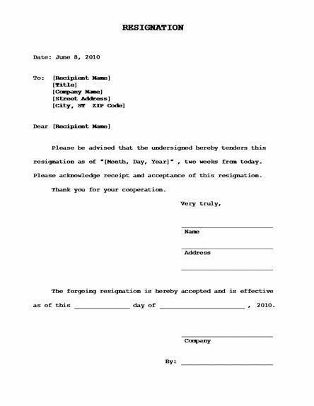 Business Templates How To Write A Job Resignation Letter Samples ...