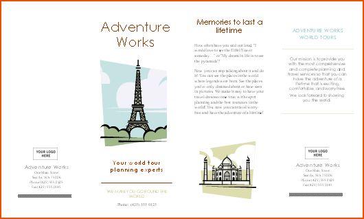 8+ microsoft word brochure template - bookletemplate.org