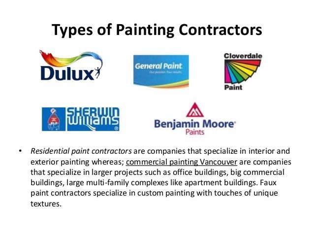 Commercial Painting Contractors in Vancouver
