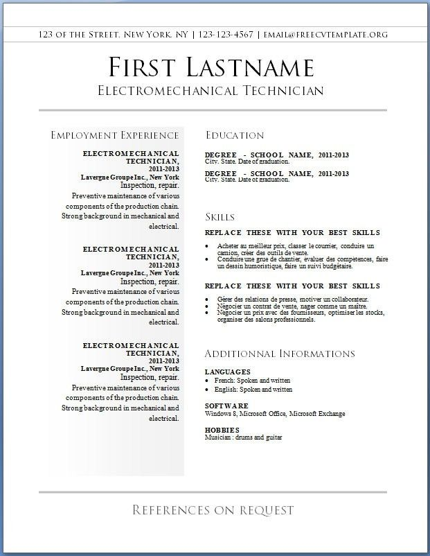 free resume builder templates free resume template builder