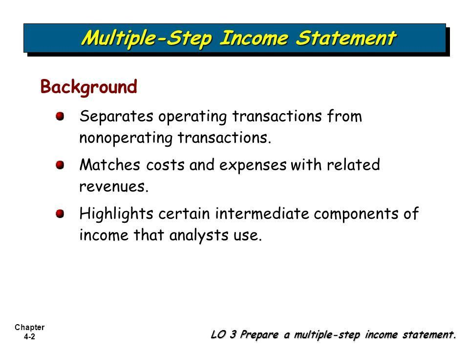 Income Statement and Related Information - ppt video online download