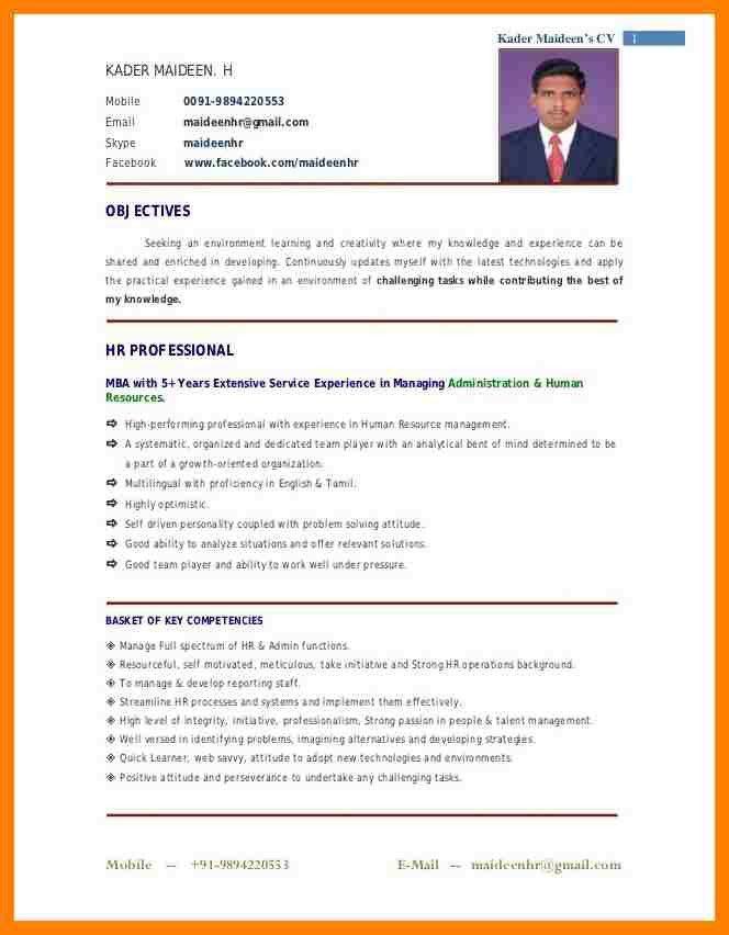 7+ recent resume format   coaching-resume