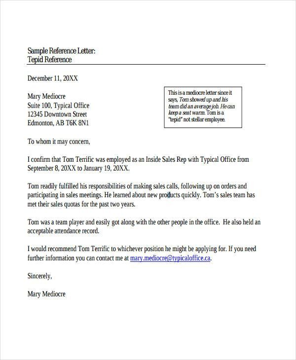 Sample Recommendation Letter Format. 10 Best Recommendation ...