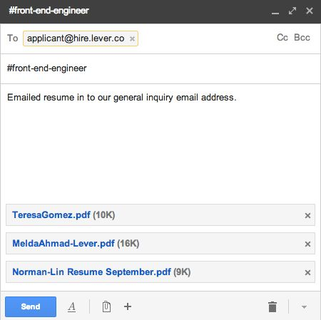 How do I add multiple / import many candidates? – Lever