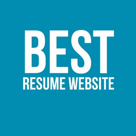 5 Best Resume Website - Build Professional CV online.