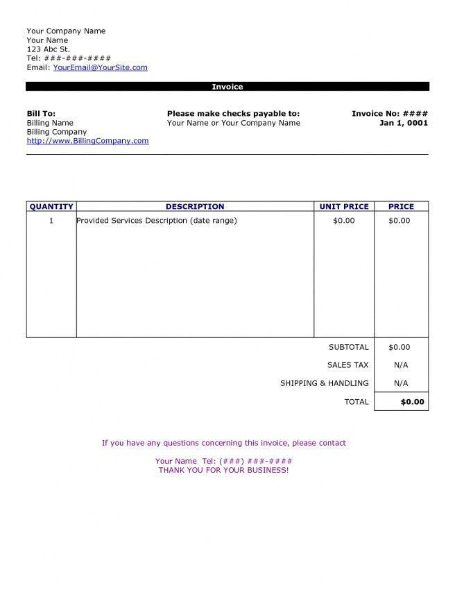 Download Joinery Invoice Template | rabitah.net