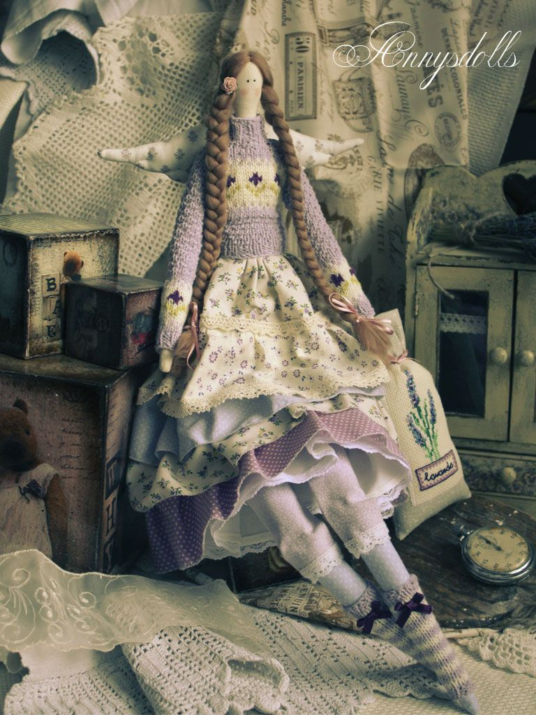 Много кукол тильда