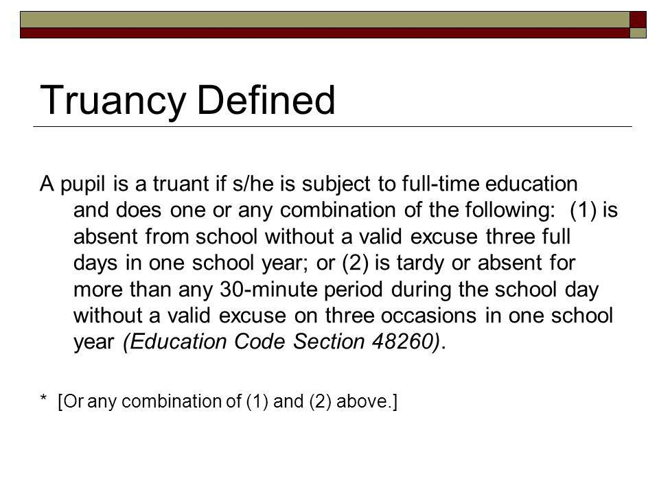 Attendance Enhancement and Truancy Reduction - ppt download