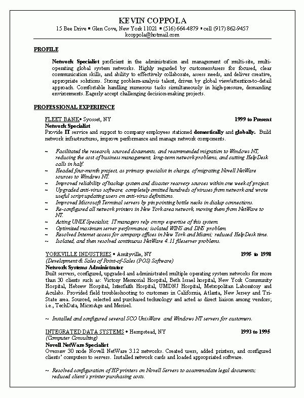 sample of job resume best resume examples for your job search