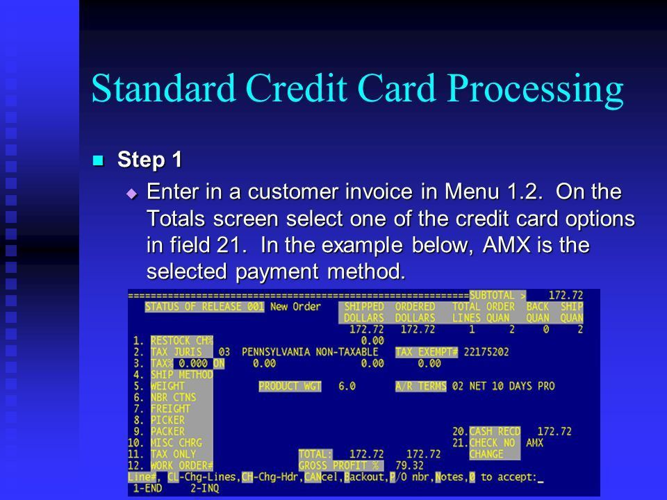 Credit Card Processing - ppt download