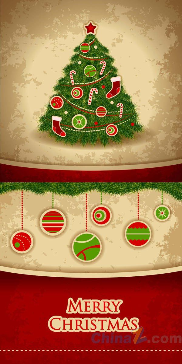Christmas poster template vector | Free VECTOR GRAPHIC Download ...