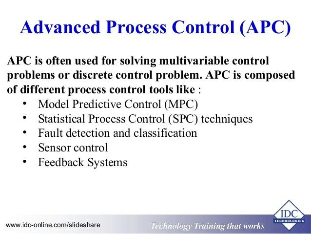 Practical Advanced Process Control for Engineers and Technicians