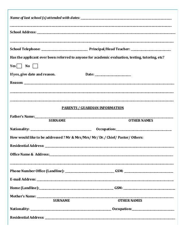 Heritage house-montessori-admission-form