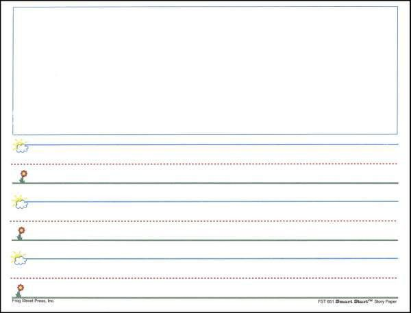 7 Writing Paper Templates - Excel PDF Formats