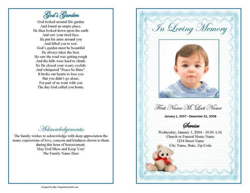 catholic funeral mass booklet template