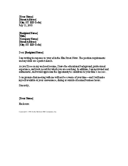 simple Cover Letter for Resume sample resume cover letter Jon ...