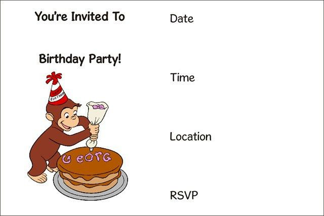 Free Birthday Party Invitations - Themesflip.Com