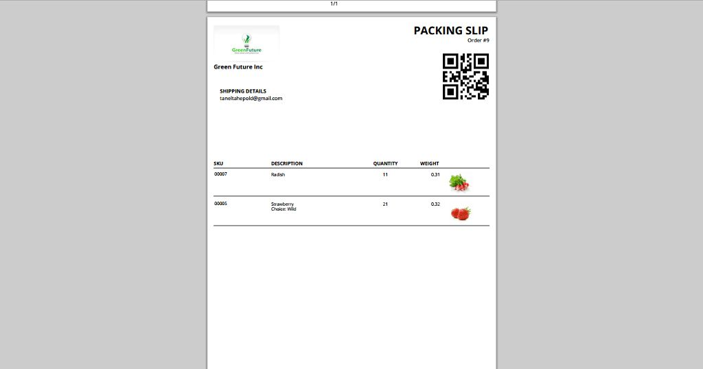 Printout Designer: Packing Slips and Shipping Labels