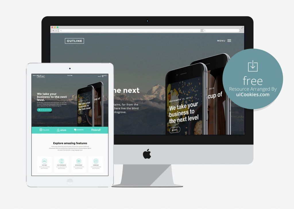 Top 100+ Free HTML5 Responsive Bootstrap Themes & Templates - 2016