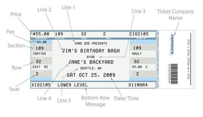 Best 25+ Free concert tickets ideas on Pinterest | Ticket template ...