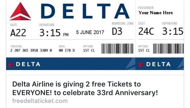 VERIFY: Is Delta giving away free tickets? | KARE11.com