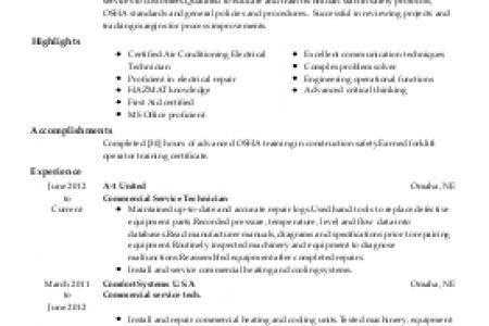 Heavy Equipment Mechanic Resume Resume, Heavy Duty Mechanic Resume ...