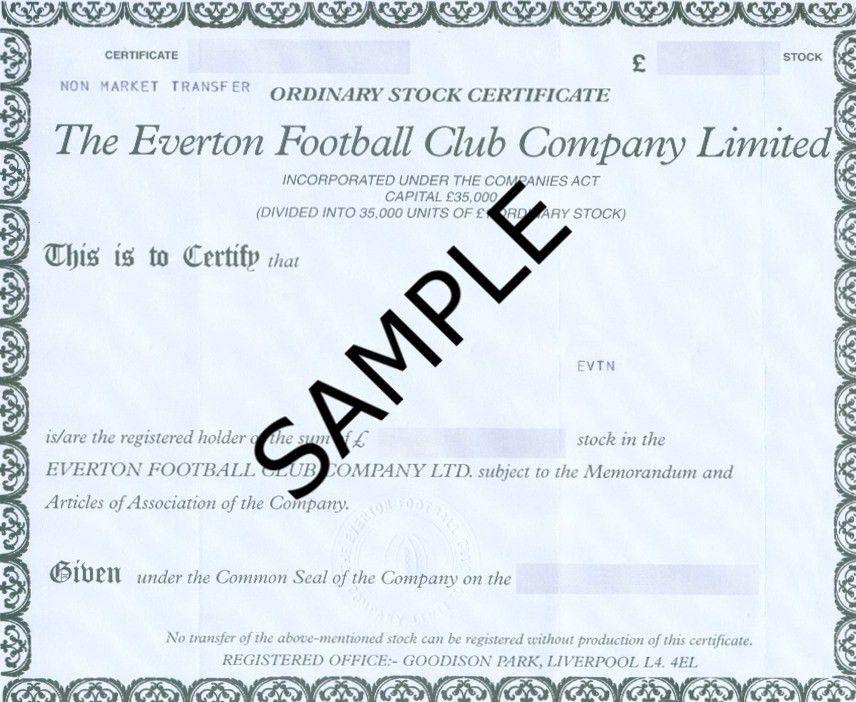 Everton Shares