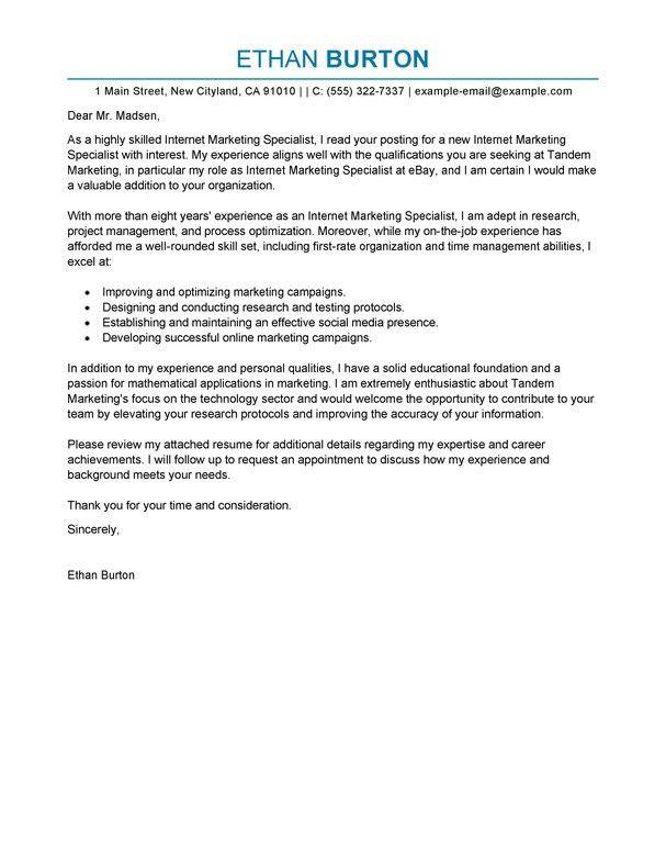 Social Media Cover Letter | | jvwithmenow.com