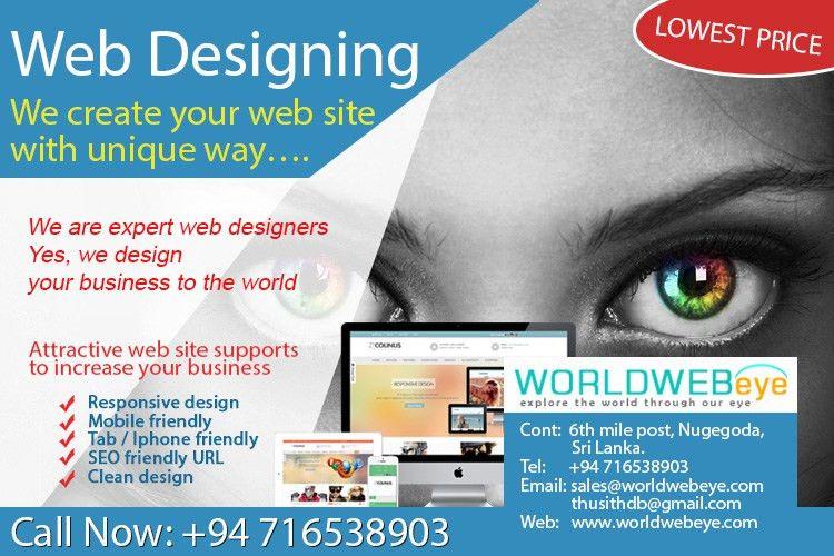 E-Flyers Design for worldwebeye.com | worldwebeye