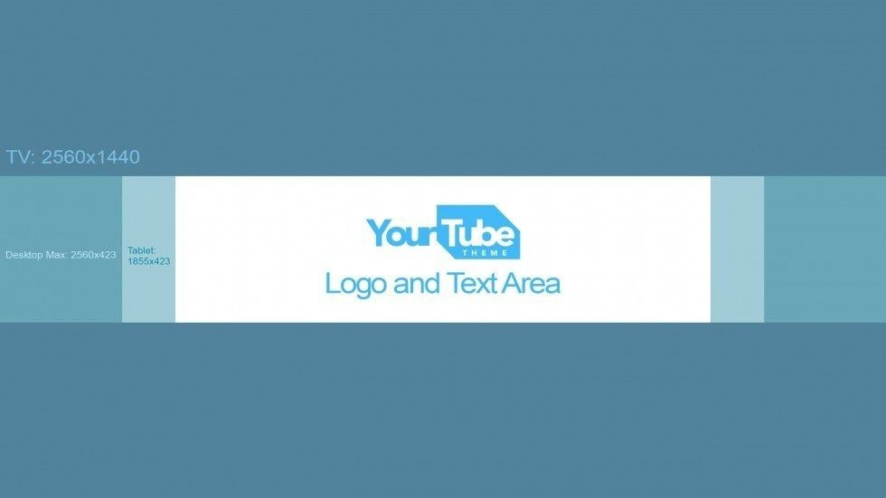 Youtube Banner Template Size 2017 - Business Plan Template