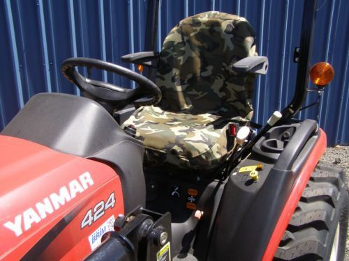 MILITARY CAMO BACKHOE SEAT COVER, FORKLIFT, TRACTOR, SKIDSTEER ...