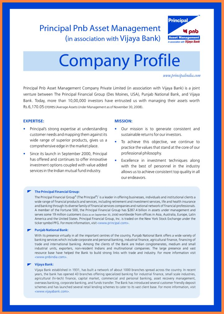 How To Write A Company Profile Letter | Docoments Ojazlink