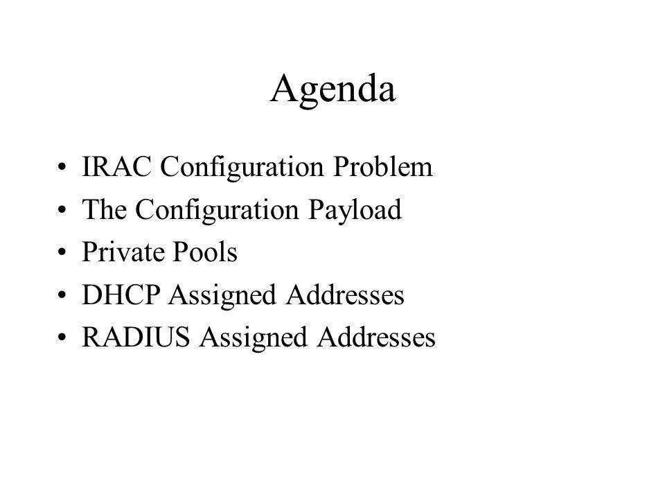 IKEv2 Configuration Payload Integration - ppt video online download