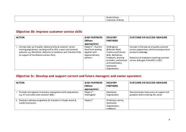 Skills Industry Action Plan
