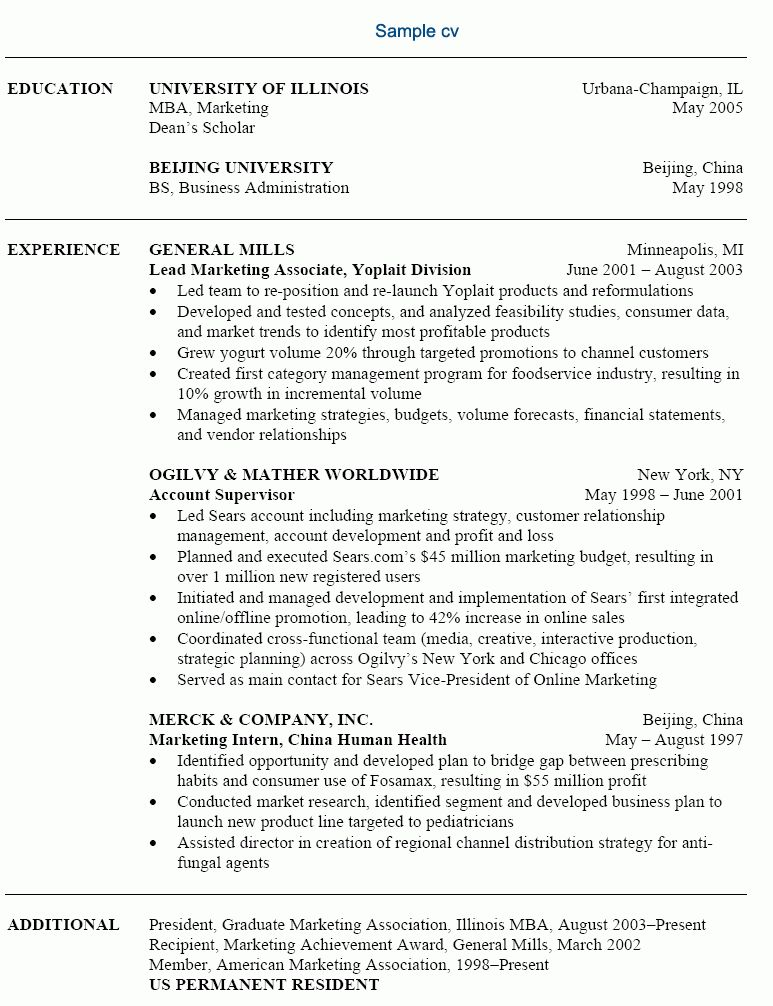 product management and marketing executive resume example. resume ...