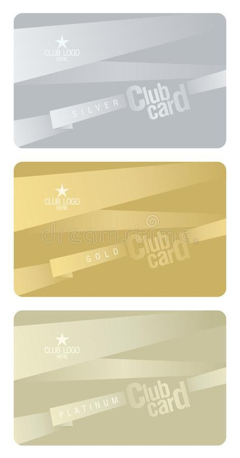 Club Card Design Template. Stock Photography - Image: 22752702