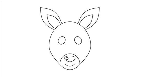 19+ Kangaroo Templates, Crafts & Colouring Pages | Free & Premium ...